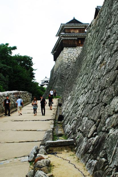 松山城城壁