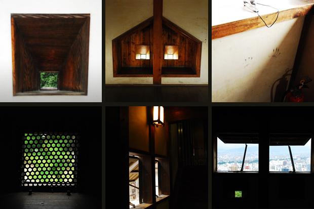松山城のかたち