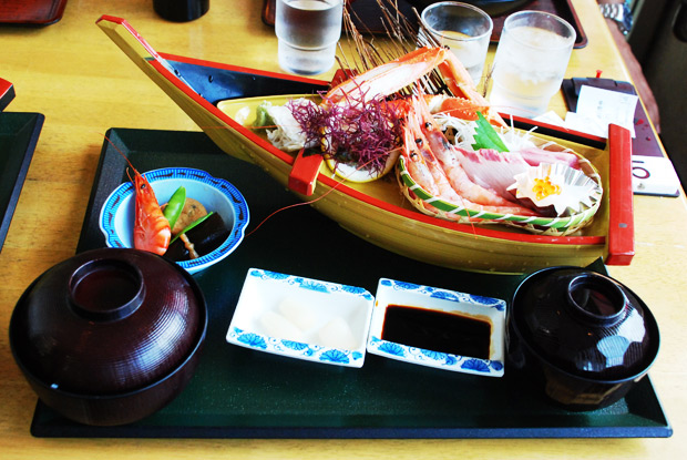 日本海の幸