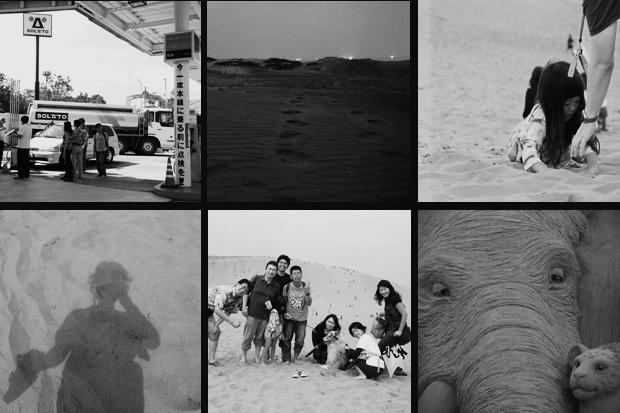 砂丘モノクローム
