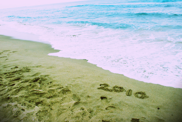 砂浜2010