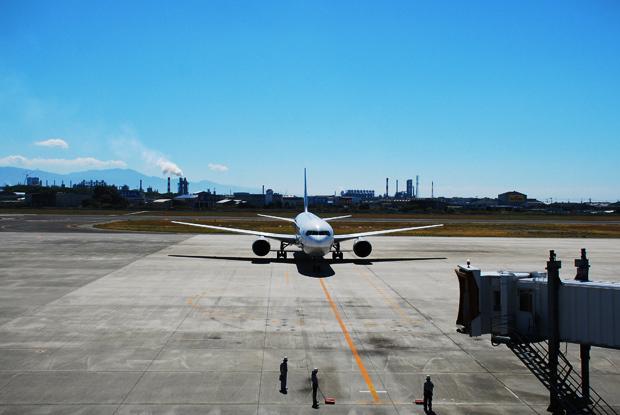 ある日の松山空港