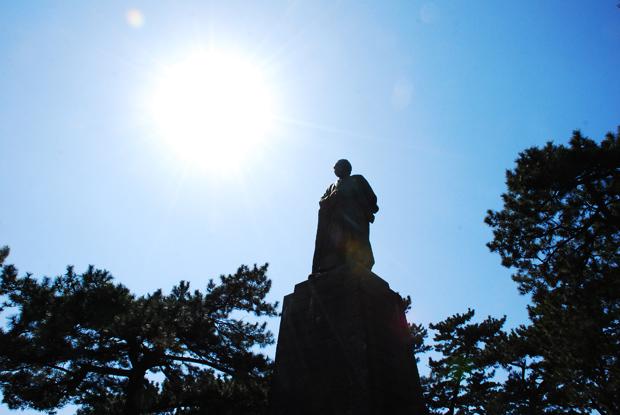 龍馬の銅像