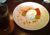 カボチャプリンケーキ